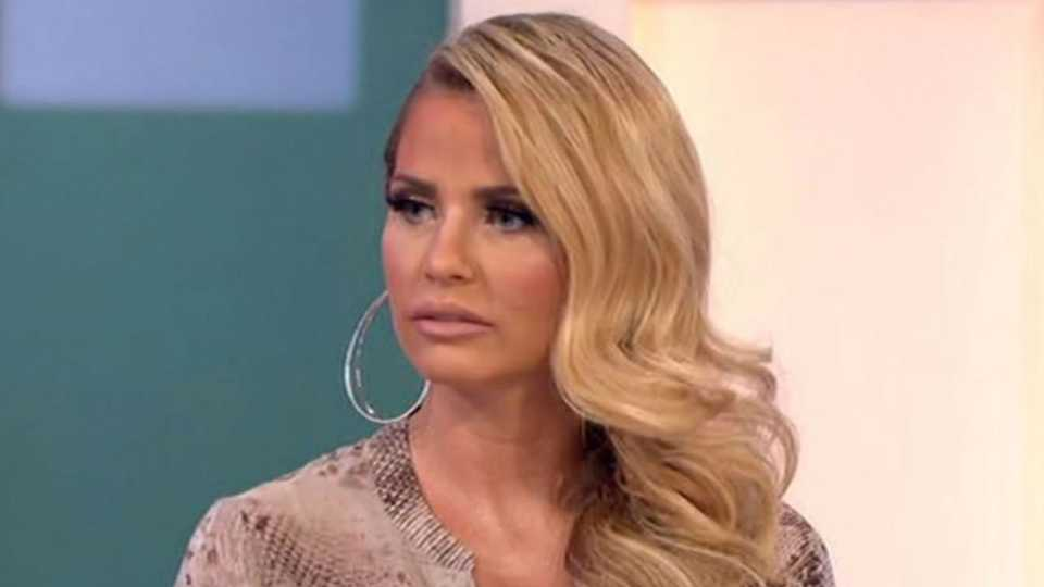 Katie Price Marched Off Loose Women Set For X-Rated Butt -8797