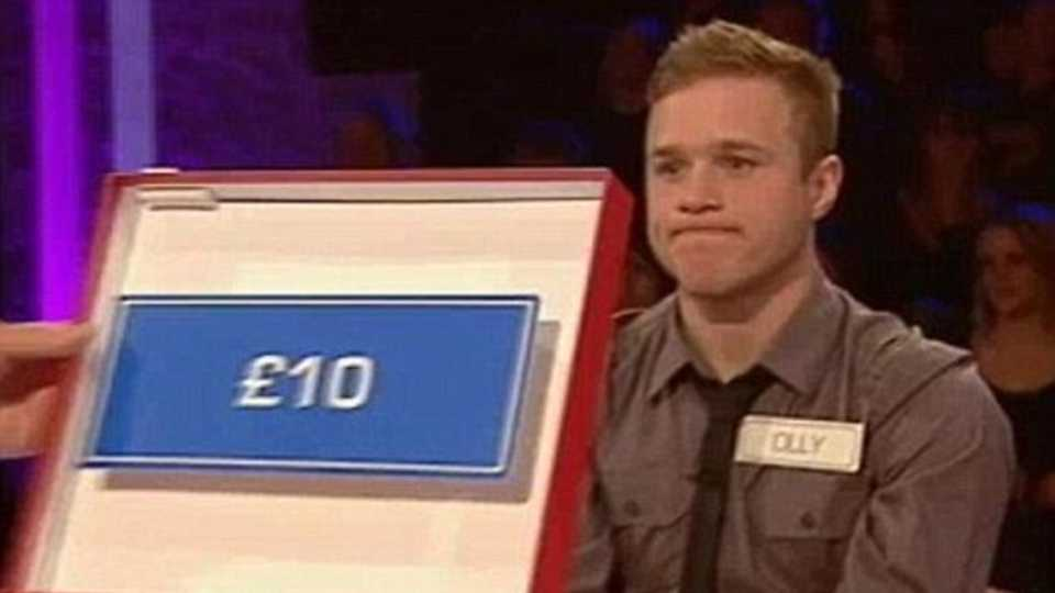 remember when olly murs went on deal or no deal flashed his pants