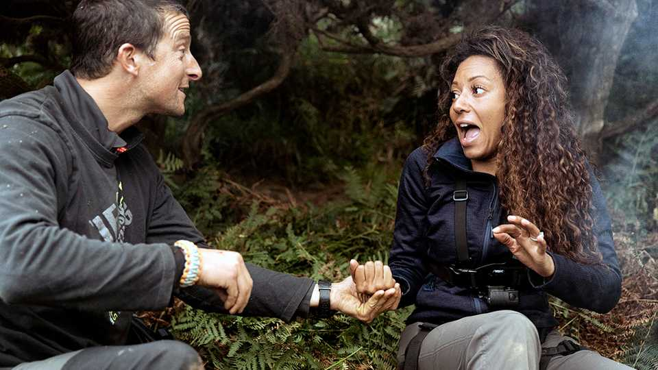 Mel B pissed on Bear Grylls because that's just how she ...
