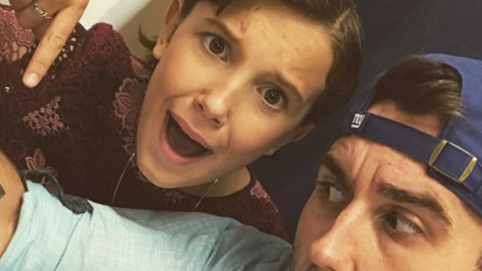 Matthew Lewis And Millie Bobby Brown Have Matching Tattoos