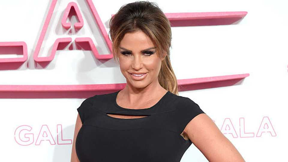 Katie Price Stripped Naked At A Christmas Party -1498