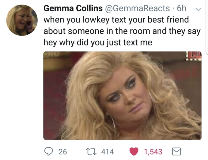 gemma collins funny quotes?quality=50&format=jpg 23 hilarious gemma collins memes to send in the group chat