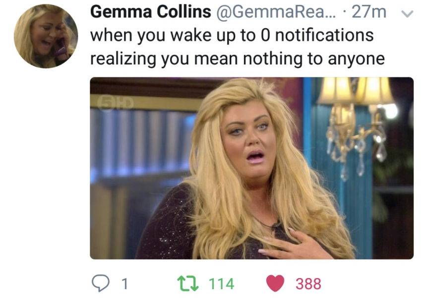 gemma collins twitter memes?quality=50&format=jpg 23 hilarious gemma collins memes to send in the group chat