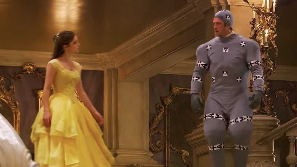 Dan Stevens Filming Beauty And The Beast In His CGI Suits Too Much