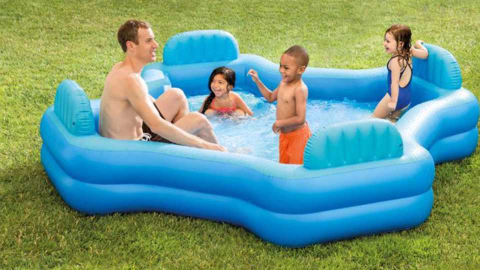 We Need This Asda Inflatable Swimming Pool Entertainment