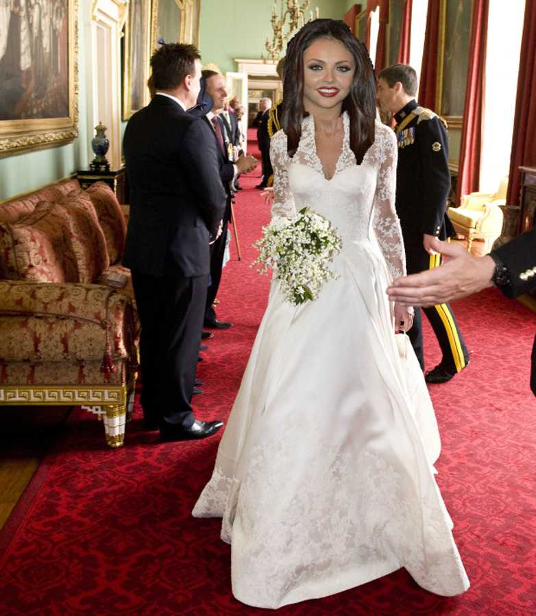 8 celebrity wedding dresses – modelled by Jesy Nelson! | Celebrity ...