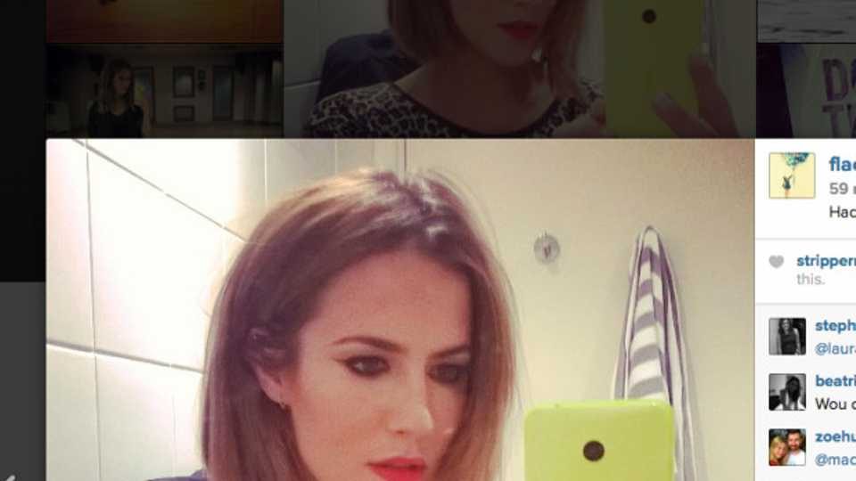 Caroline Flack Shows Off A New Strictly Haircut Hair Beauty Heat