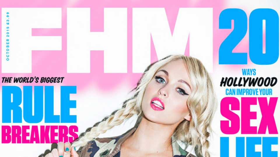 Jorgie Porter Tells Fhm Its Just So Invigorating To Be -6027