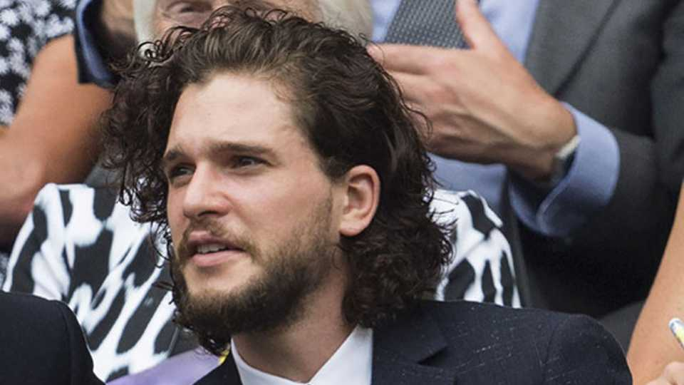 Kit Harington Has His Jon Snow Hair Back Celebrity Heat