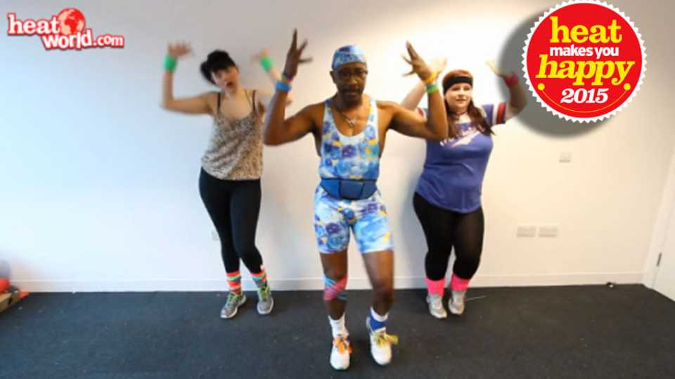 Look Look Its Mr Motivator And Hes Filmed A Lunchtime Workout