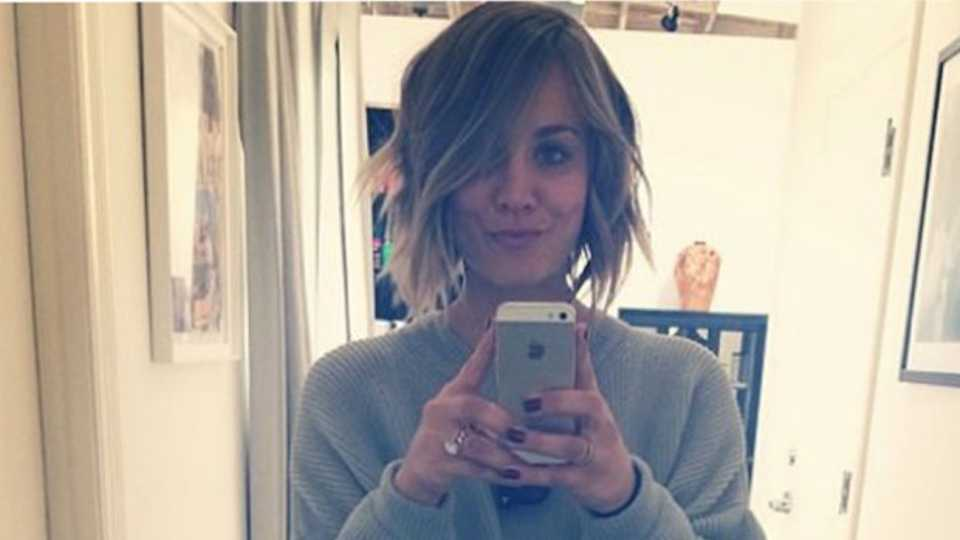 Kaley Cuoco From The Big Bang Theory Has Cut Her Hair Short And It