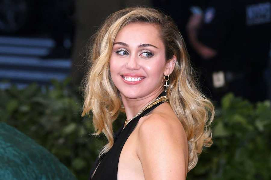 Miley Cyrus, now