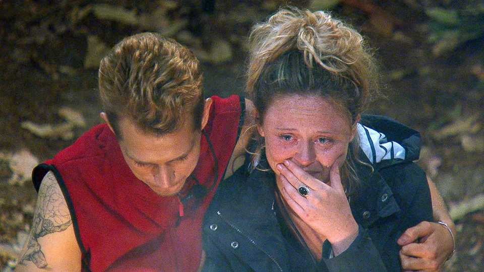 im a celeb viewers left bawling after emotional letters from home entertainment heat