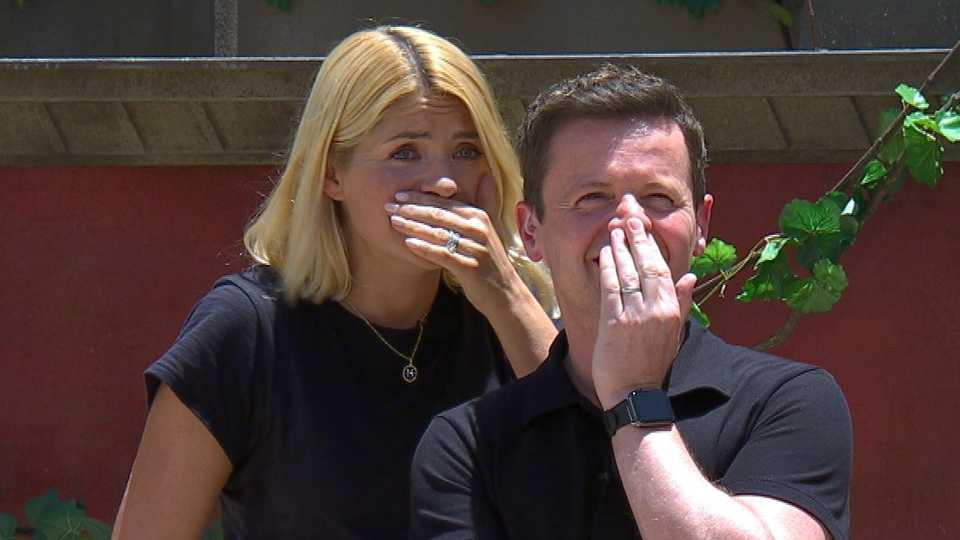 I'm A Celebrity viewers left BAFFLED at mystery 'bush man'