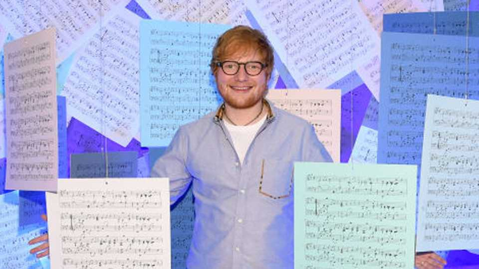 Ed Sheeran reveals the secrets to his successful songwriting