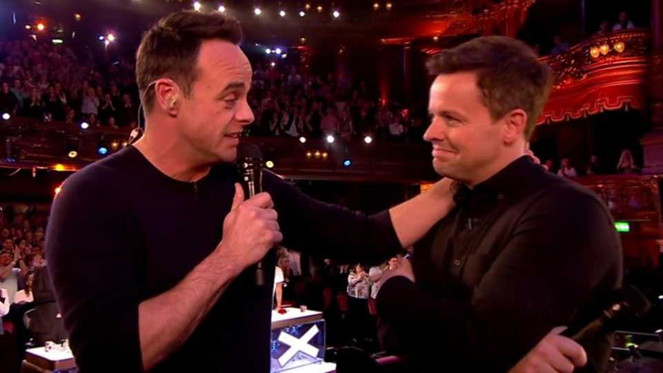 Ant McPartlin gives VERY emotional speech after NTA win alongside Dec Donnelly