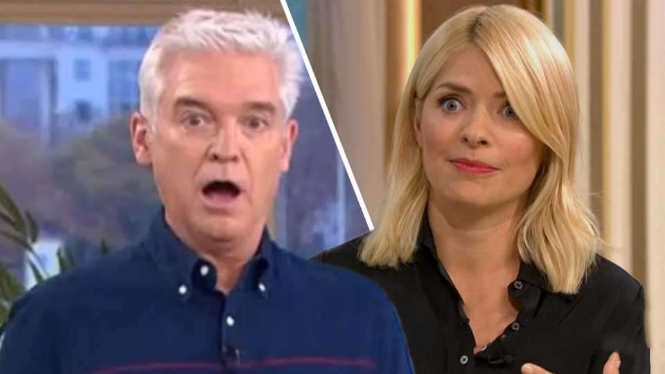 41733ac787 Holly Willoughby forced to present This Morning WITHOUT Phillip ...